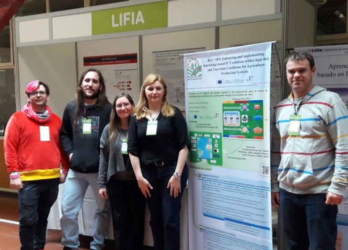 RUC-APS at the CONCYT congress
